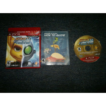 Ratchet And Clank Future Crack Time Completo Play Station 3