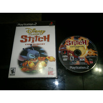 Stitch Experiment 626 Sin Instructivo Para Play Station 2