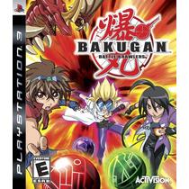 Bakugan Battle Brawlers Usado Ps3 - Blakhelmet R E