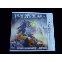 Transformers Dark Of The Moon 3ds Excelentes Condiciones