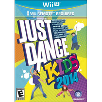 Just Dance Kids 2014 Nintendo Wii U Nuevo Blakhelmet Sp
