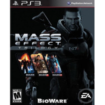 Mass Effect Trilogy Para Ps3 Playstation 3 Nuevo Y Sellado