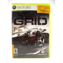 G0347 Xbox 360 Videojuego Videogame Grid