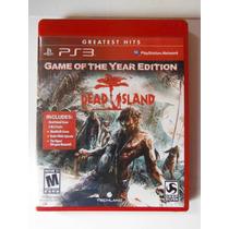 Ps3 Playstation Dead Island Videogame Accion Zombies Terror