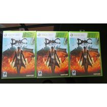 Devil May Cry Xbox 360 Nuevo, Sellado