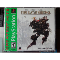 Final Fantasy Anthology Nuevo Sellado Playstation Psone Psx