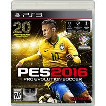 Pes 2016 Para Ps3 Playstation 3 - Fisico Nuevo Y Sellado.