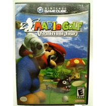 Mario Golf Toadstool Tour Nintendo Gamecube