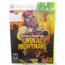 Red Dead Redemption Undead Nightmare Collection Xbox 360