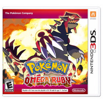 Pokemon Omega Ruby - 3ds, New 3ds [físico] Fgk Msi