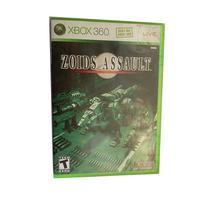 Zoids Assault Caja Usado Sin Manual Xbox360 Coleccion