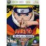 Naruto Rise Of Ninja Xbox 360 Nuevo Entrega Express Citygame