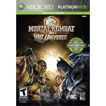 Mortal Kombat Vs Dc Universe Para Xbox 360 Nuevo Físico