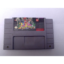 Power Rangers Mighty Morphin Para Super Nintendo Snes