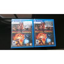 Mortal Kombat Ps Vita Nuevo, Sellado