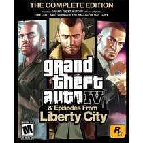 Grand Theft Auto Iv Gta Complete Juego Computadora (digital)
