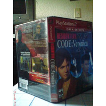Resident Evil Code Veronica X Para Ps2