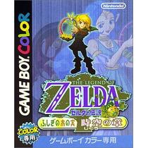 The Legend Of Zelda Oracle Of Ages Game Boy Color Japones