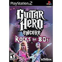 Guitar Hero Encore Rocks The 80s Ps2