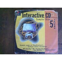 Cd Interacti Play Station One Psone Ps2 Ps3 Excelente Estado