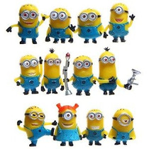 Apenas Modelo 12 X Despicable Me The Minions Pvc Toy Figuras