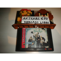 Sega Genesis La Familia Adams