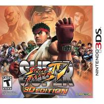 Super Street Fighter 4 3d Edition - Nintendo 3ds