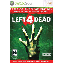 Left 4 Dead Game Of The Year Edition Nuevo Sellado Xbox 360