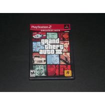 Ps2 Grand Theft Auto 3 Gh (usado)
