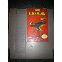 Wrath Of The Black Manta Nintendo Nes Ninjas Perfecto Estado