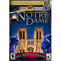 Hidden Mystery Notre Dame Y Civil War Juego P/ Pc 2 En 1 Vv4