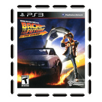Back To The Future The Game Ps3 Nuevo Sellado Cdv