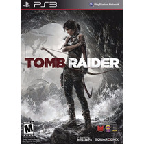 Tomb Raider Ps3 Nuevo Sellado Original Playstation