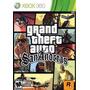 Gta San Andreas,minecraft,fable Y + Juegos Xbox 360 Licencia