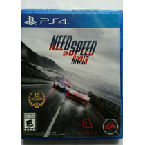 Need For Speed Rivals Ps4 Nuevo Sellado Disco Fisico