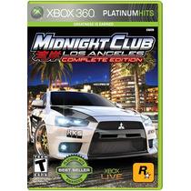 °° Midnight Club Los Angeles Complete Xbox 360 °° En Bnkshop