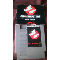 Ghostbusters Con Manual Activision Nes Nintendo