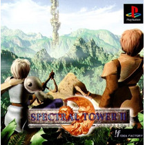 Playstation Ps1 Spectral Tower 2 Anime Aventura Fantasia Rpg