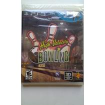 Ps3 Move High Velocity Bowling $299 Pesos Nuevo Vendo / Camb