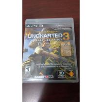 Vendo Uncharted 3 Drakes Deception Ps3 Con Caja