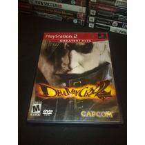 Devil May Cry 2 Playstation 2 Completo En Buenas Condiciones