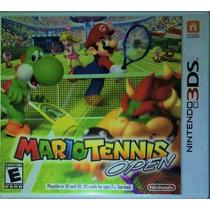 Mario Tennis Open Para 3ds