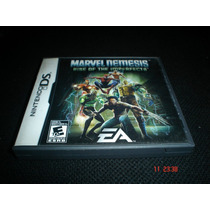 Nintendo Ds Marvel Nemesis Rise On The Imperfects