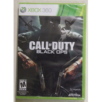 Call Of Duty Black Ops 1 Xbox 360 Excelentes Condiciones