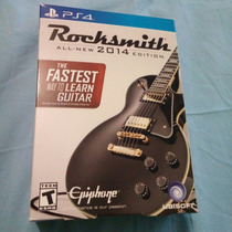 Rocksmith 2014 Con Cable Incluido Nuevo, Sellado Ps4 $999
