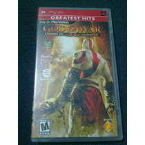 God Of War Chains Of Olympus Psp Completo En Buena Condición