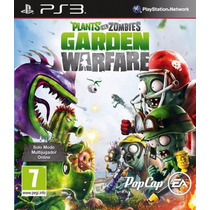 Ps3 Plantas Vs Zombies Garden Warfare (mercado Pago Y Oxxo)