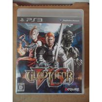 Ps3 Playstation Gladiator Japones Anime Fantasia Accion