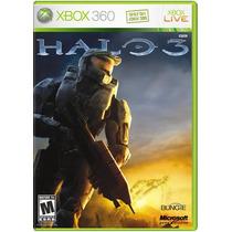 °° Halo 3 Solo Para Xbox En Español °° En Bnkshop