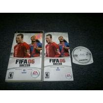 Fifa Soccer 06 Completo Para Sony Psp,excelente Titulo